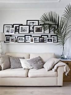Wandgestaltung Mit Bildern - wohnzimmer mit bildern gestalten