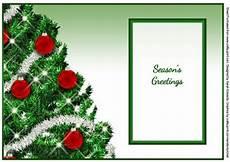 christmas tree a5 insert season s greetings cup356757 172 craftsuprint