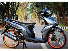 Mio Babylook Simple by Modifikasi Motor Mio Gt Simple Berputar Roda