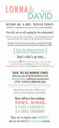 funny wedding program story style wedding by makenzienoelle mary wedding wedding humor