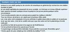 Ma Collection D Annonces Et Profils Meetic Les De