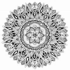Malvorlagen Mandala Blumen Beautiful Mandala Flowers For Printing Mit Bildern
