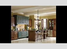 Two tone kitchen cabinets   YouTube