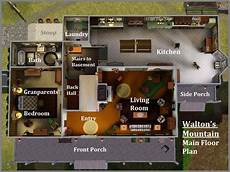 the waltons house floor plan waltons tv show house plans