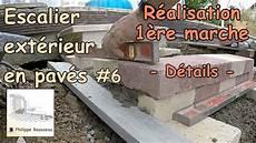 Faire Une Extérieure Construire Un Escalier Ext 233 Rieur De Jardin En Pav 233 6