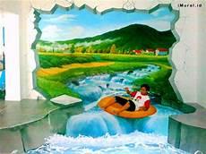 Lukisan Dinding 3d Berbagai Tema Untuk Berbagai Kebutuhan