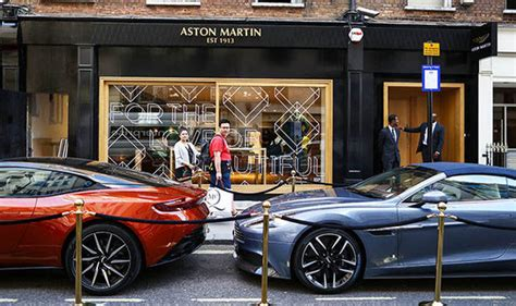 Aston Martin Opens Boutique Store In Mayfair, Central