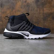 nike air presto mid sp black black obsidian