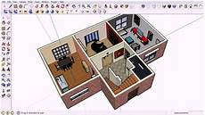 sketchup house plan floor plan view in sketchup see description youtube