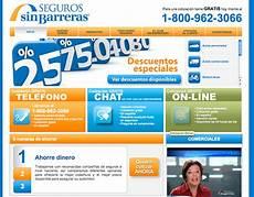 barreras insurance seguros barreras website on behance