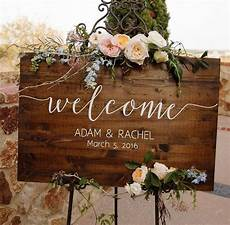 Gallery Wedding Welcome Signs
