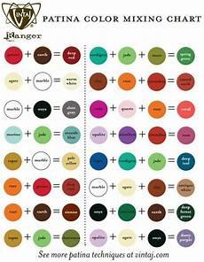vintaj patina color mixing chart colors in 2019 color mixing chart mixing paint colors