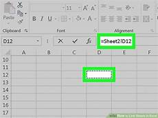 how to link sheets in excel 10 steps with pictures wikihow