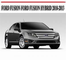 repair anti lock braking 2010 ford fusion transmission control ford fusion ford fusion hybrid 2010 2013 repair manual tradebit