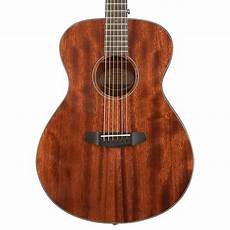 breedlove discovery concert acoustic guitar all mahogany ovangkol fretboard 6 string