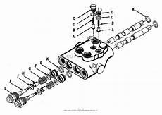 simplicity 990412 loader front end parts diagram for