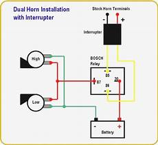 Car Alarm Relay Wiring Diagram 12 Volt Air Horn Wiring