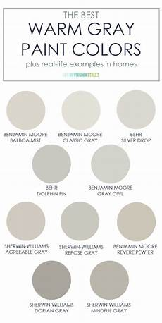 the best warm gray paint colors life virginia street