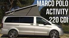2015 Mercedes Marco Polo Activity 220 Cdi Brilliant