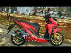 Modifikasi Vario 2018 by Modifikasi Vario 125 Vario 150 Terbaru 2018 8
