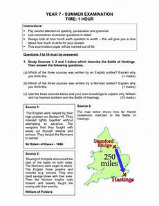 year 7 spelling worksheets uk 22587 year 7 history practice examination ks3 resource