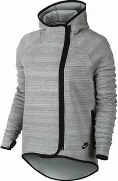 nike tech fleece cape s hoodie grey 655765 063 size