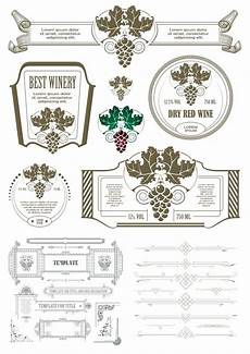 ladari vintage vintage calligraphic design elements free vector cdr