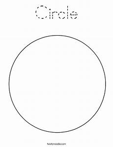 Simple Circle Coloring Pages Circle Coloring Page Tracing Twisty Noodle