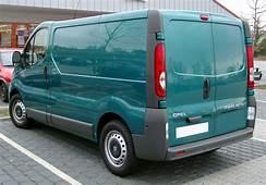 2012 Opel Vivaro Photos Informations Articles