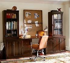 pottery barn home office furniture logan small office suite mahogany pottery barn