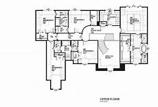 theplancollection com modern house plans upstairs of central kitchen plan luxury house plans