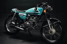 Moto Cafe Racer Honda 125 honda cg125 cafe racer by fernando casado bikebound