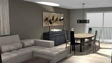 sejour a decoration salon sejour moderne table de lit