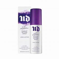 review decay all nighter makeup setting spray