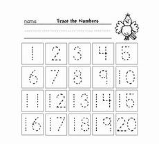 tracing numbers 1 10 free printable loving printable