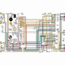 camaro color laminated wiring diagram 1967 1981