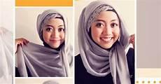 Tutorial Cara Memakai Jilbab Segi Empat Cantik Nan