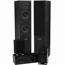 surround sound system fluance sxhtb bk 5 speaker surround sound home theater