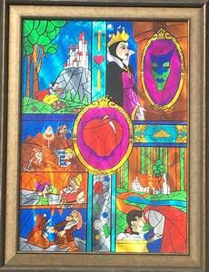 cris woloszak snow white s journey original painting enamel aluminum at 1stdibs
