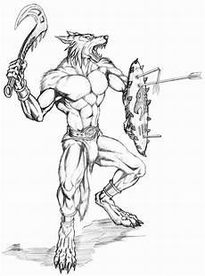 warrior with shield by wolflsi on deviantart