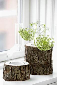 Holz Deko Modern - besonders reizvolle fensterbank deko