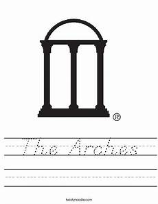 arch worksheets 19288 the arches worksheet d nealian twisty noodle