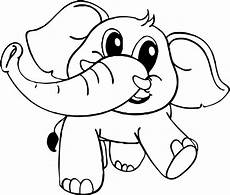 baby elephant coloring page wecoloringpage