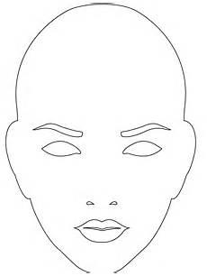 gesicht zum ausmalen silhouette visage silhouettes vectoriel