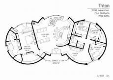 monolithic dome house plans four bedroom monolithic dome home floor plan designs