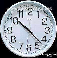 distributor jam dinding sakana seiko untuk souvenir cinderamata perusahaan
