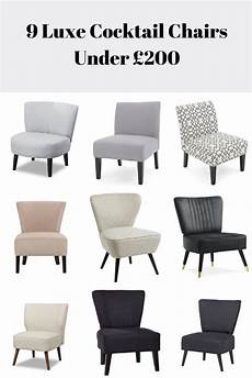 cocktail chairs are a way to add a luxury touch to