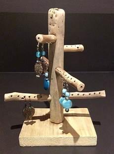 présentoir bijoux bois arbre 224 bijoux en bois flott 233 par l atelier de corinne