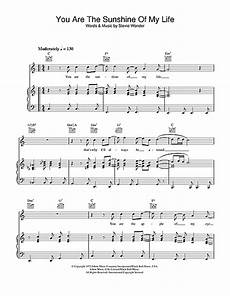 you are the sunshine of my life sheet music by stevie wonder piano vocal guitar right
