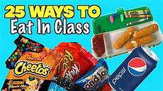 to food to go 25 smart ways to sneak food and into class using